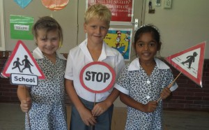 Grade 1 Learners – Learning Road Safety